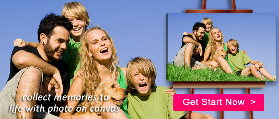 Share your photos in a big, beautiful way by giving canvas prints as gifts to family and friends.